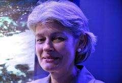 UNESCO head Irina Bokova