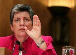 U.S. Secretary of Homeland Security Janet Napolitano, seen here in September 2010