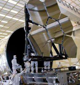 Webb Telescope's first primary mirror meets cold temperature specifications, sets program landmark