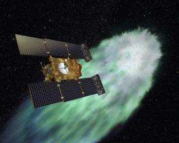 2-timing spacecraft has date with another comet