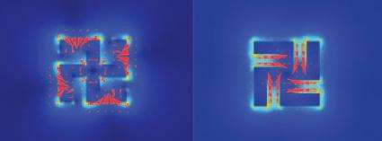 Nano-sized light mill drives micro-sized disk (w/ Video)