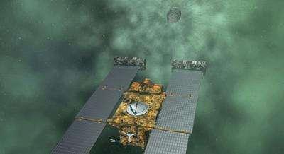 NASA's Stardust spacecraft completes comet flyby