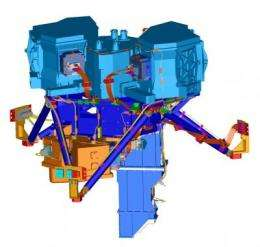 NASA's Webb telescope MIRI instrument takes one step closer to space