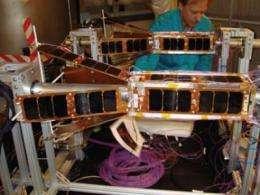 NRL launches nano-satellite experimental platforms