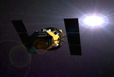 Record-breaking X-ray blast briefly blinds space observatory