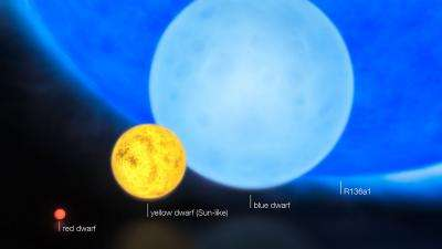 Scientists find most massive star ever discovered (w/ Video)