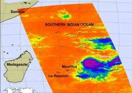 Small and mighty cyclone Gelane reaches category 4 strength