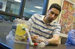 Students develop a low-cost portable ventilator