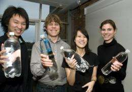 Students' water-testing tool wins $40,000, launches nonprofit