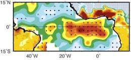Tropical Atlantic sees weaker trade winds and more rainfall: study