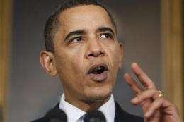 White House: Dems near accord on health care bill (AP)