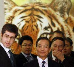 13 nations sign declaration meant to save tigers (AP)