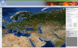 NASA satellite data aid United Nations' ability to detect global fire hotspots