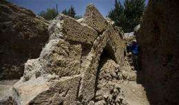 14th-century aqueduct found in Jerusalem (AP)