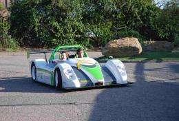The Racing Green Endurance Vehicle