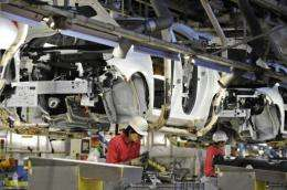 Japanese auto giant Nissan and its French partner Renault have sunk four billion euros ($5.5 billion) into the Leaf car