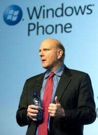 Steve Ballmer is to take the wraps off a new line of smartphones powered by Windows Phone 7, in New York on Monday