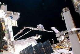 The International Space Station's newly installed Tranquility node