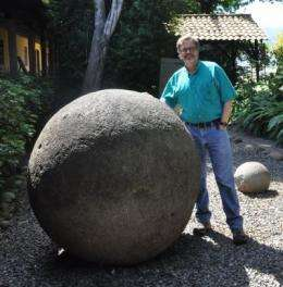 University of Kansas researcher investigates mysterious stone spheres in Costa Rica