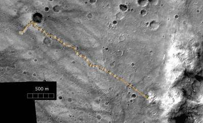 The complete traverse of NASA's Mars Exploration Rover Spirit