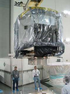 NASA's CloudSat Spacecraft Arrives at Launch Site