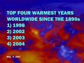 2004- The Fourth Warmest Year in a Century