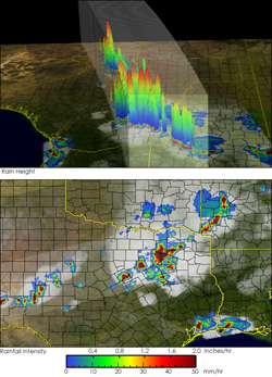 NASA Satellite Identifies the World's Most Intense Thunderstorms