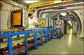BNL NASA Space Radiation Laboratory beamline