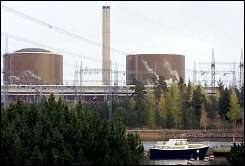 A nuclear power plant in Loviisa, Finland