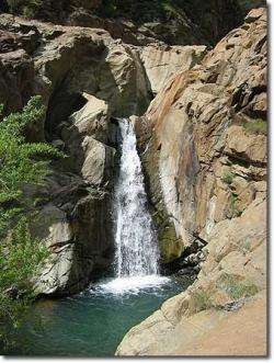 A waterfall on the North Fork of the American River