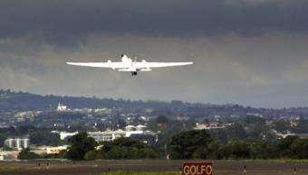 The ER-2 en route to a hurricane.