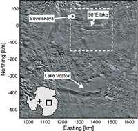 Two new lakes found beneath Antarctic ice sheet 1