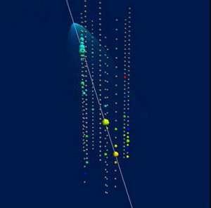 Neutrino detection by AMANDA