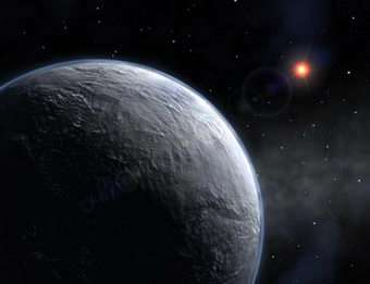 Icy exoplanet brings astronomers closer to home