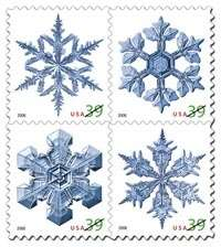 Physicist's Snowflake Images Get Stuck