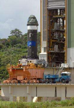 Successful firing of Vega's first-stage motor in Kourou