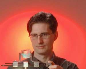 Sandia's Z machine creates ice in nanoseconds