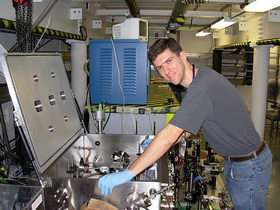 Laser Acceleration of Electrons Excites Physicists