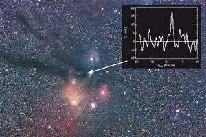 Elusive oxygen molecule finally discovered in interstellar space