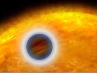 Hubble Probes Layer-Cake Structure of Alien World's Atmosphere