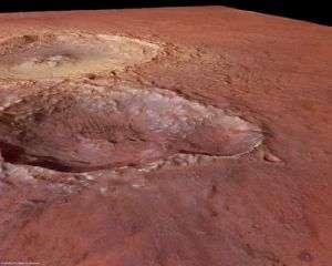 Impact Craters in Tyrrhena Terra