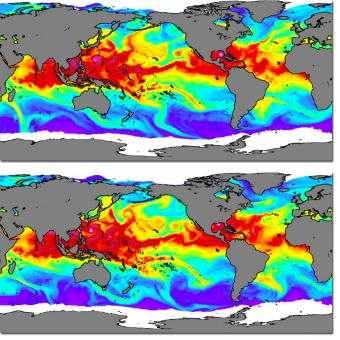 Increase in atmospheric moisture tied to human activities