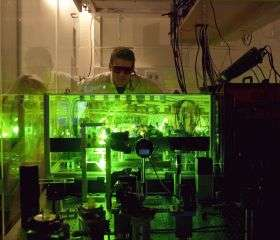 Laser light alone can open, close world's fastest optical shutter without heating or cooling