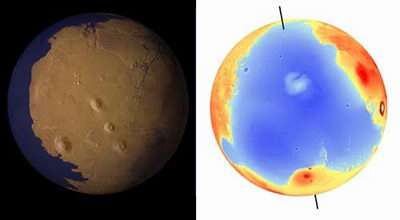 New Evidence Points to Oceans on Mars