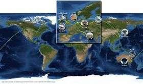 Networks create 'instant world telescope'