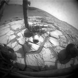 Opportunity Reaches First Target Inside Crater