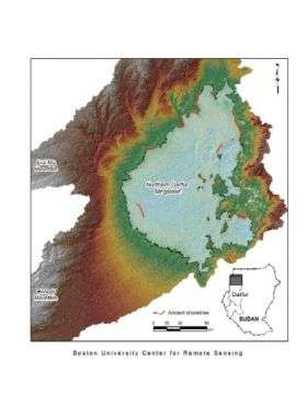 Space Data Unveils Evidence of Ancient Mega-lake in Northern Darfur