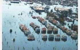 Urban sediments after Hurricanes Katrina, Rita contained high levels of contaminants
