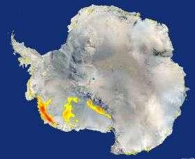 Vast Regions of West Antarctica Melted in Recent Past