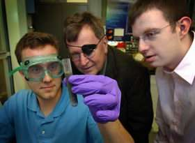 New process generates hydrogen from aluminum alloy to run engines, fuel cells